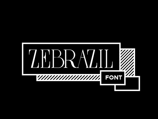 ZEBRAZIL Font Download