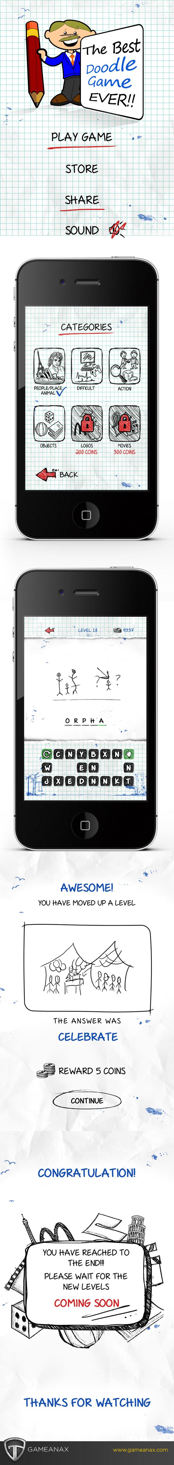 mobile gaming Gaming Games iphone iPad UI ux