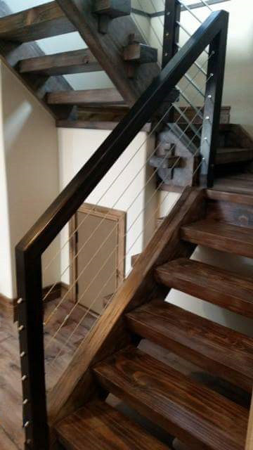 Timber Frame Staircase On Behance
