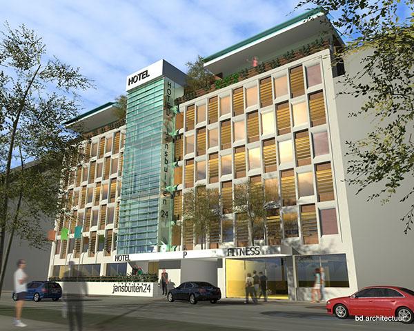 herbestemming kantoren hotel appartementen