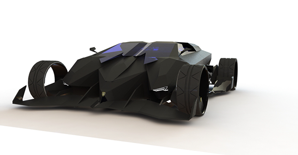 2050 Lamborghini Concept Car On Behance