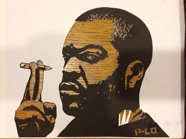 larios Street Art  stencil art artofPLO