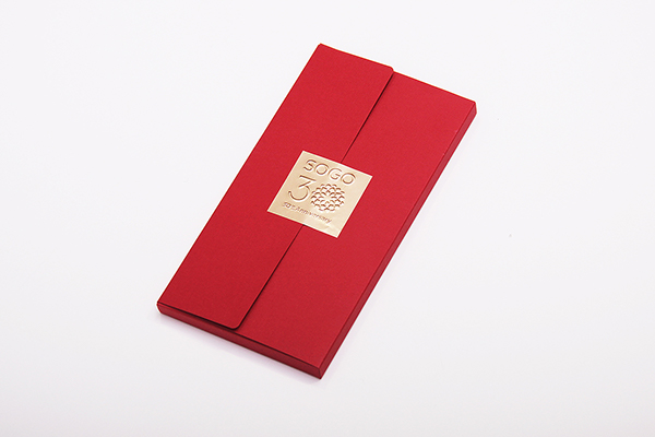 Sogo 30th Anniversary Red Packets Design On Pantone Canvas