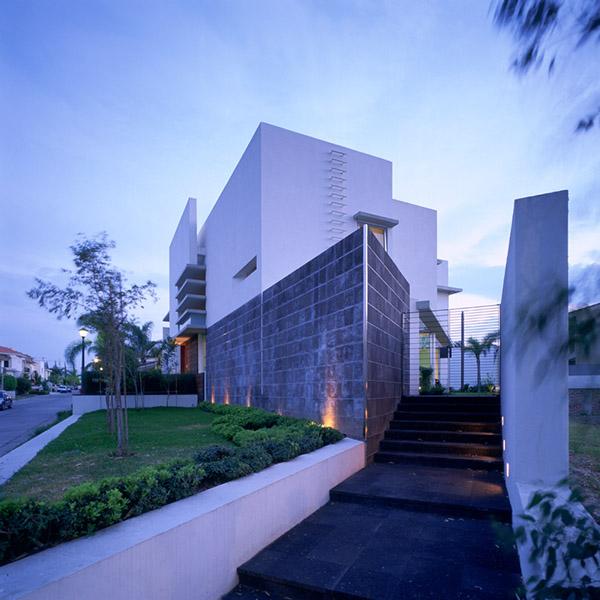 Casa e on behance for Arquitectura minimalista casas
