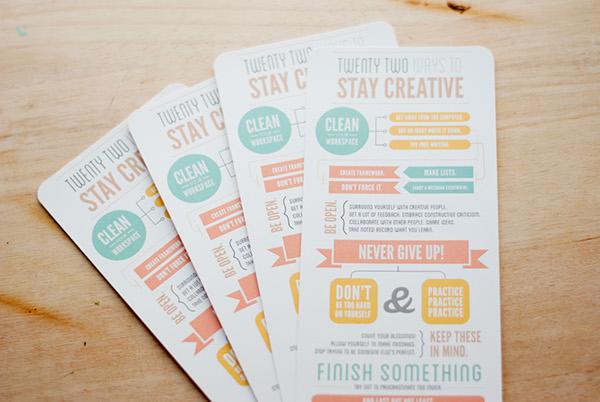 22 ways print infographic