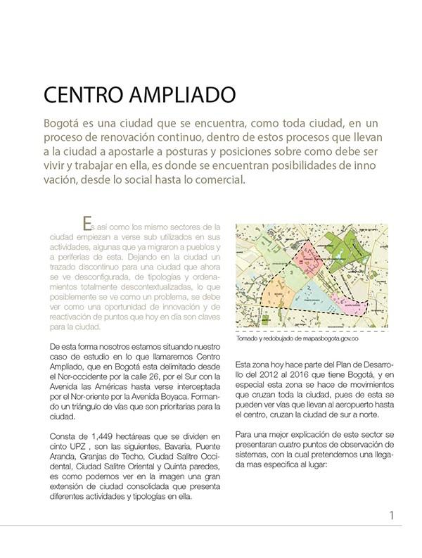 INTERVENCIÓN URBANA EN EL CENTRO AMPLIADO DE BOGOTA. on Los Andes ...