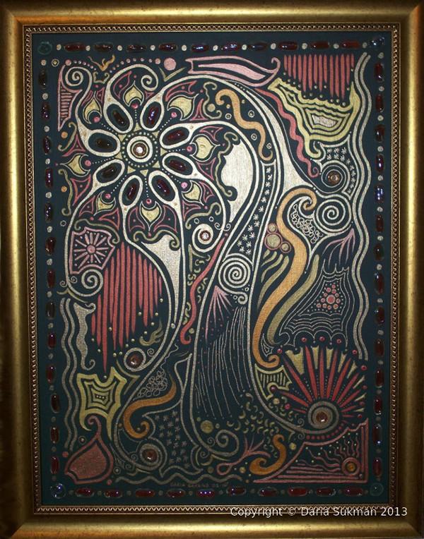 acrylics canvas