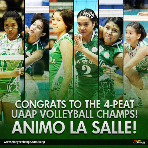 HIGHLIGHTS: Ateneo vs La Salle (UAAP 77 Volleyball Finals Game 1)