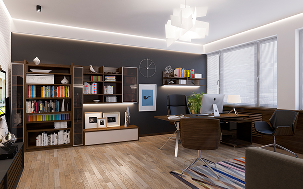 Awesome Personal Office Room On Behance Largest Home Design Picture Inspirations Pitcheantrous