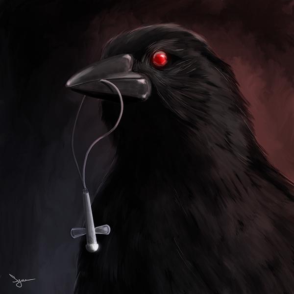 Evil crow - photo#6
