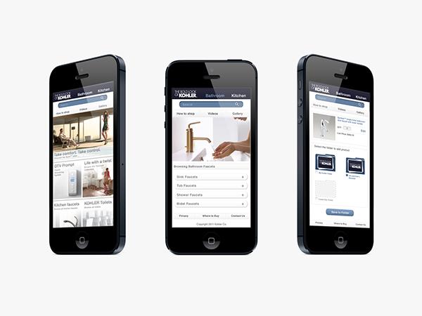 KOHLER Mobile Optimized Site