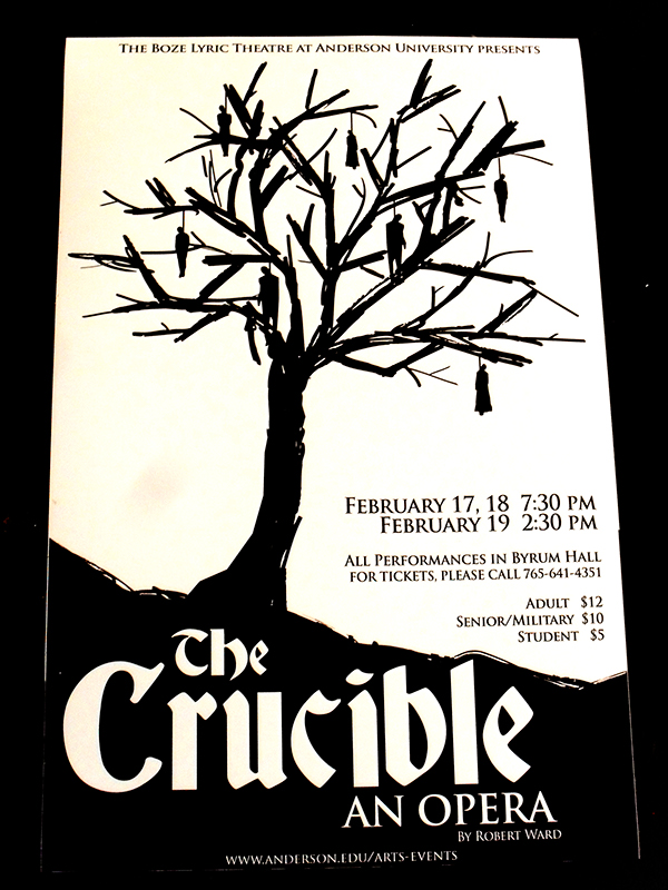 The crucible newspaper project