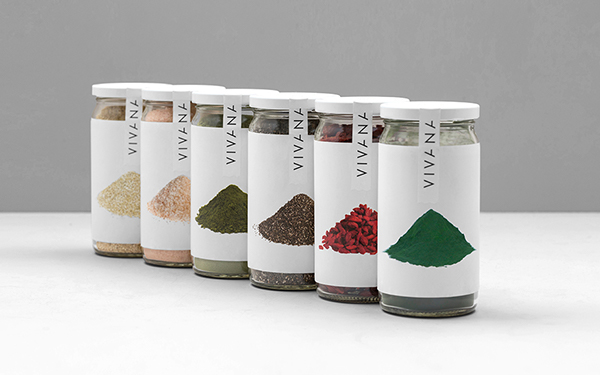 #anagrama #graphic design #detox #superfoods #Logo #metallic   #Organic #natural #jars #nutritional #packaging #Clean #Identity #seeds   #salt