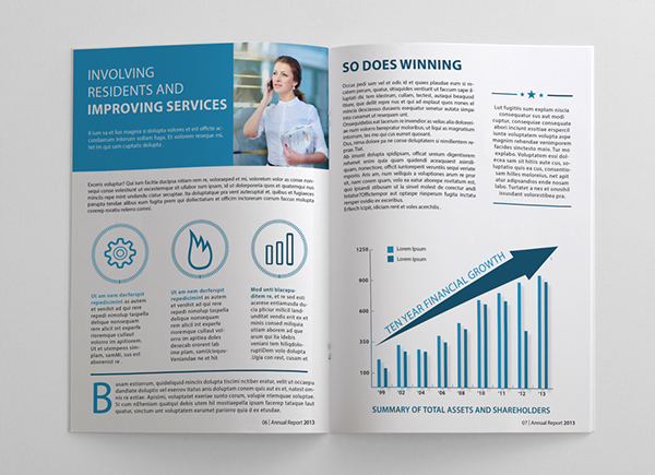 Annual Report Brochure on Behance – Annual Report Brochure