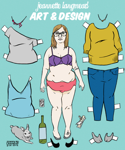 paper dolls Celebrity commissions craft Fun