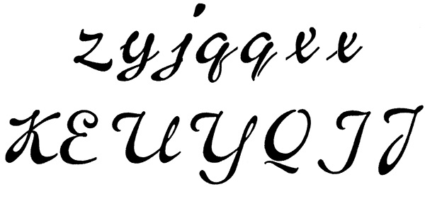 type fonts Script