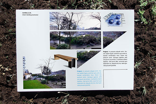 Garden design book on behance for Garden design workbook