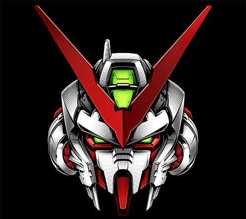 Exceptional Logo Gundam Head Vector Picture Download 2