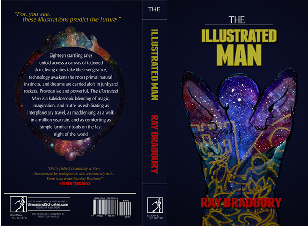 Illustrated Man Book Cover ~ The illustrated man a thesis by mai mangalus on behance