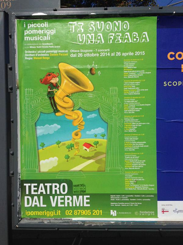 ADV GigPoster concert milan poster orchestra pomeriggimusicali
