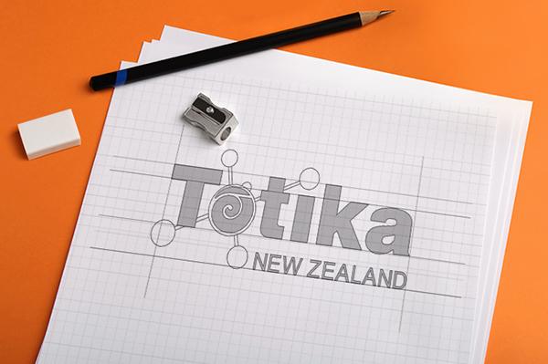 Totika brand Polymers koru New Zealand creative