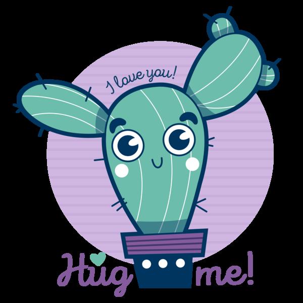 cactus kawaii cute infantil hugme Illustrator photoshop