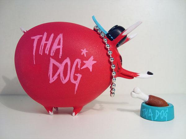 dog toy resin toy Urban toy