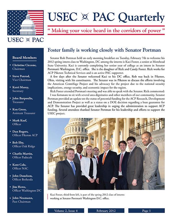 USEC PAC on Behance