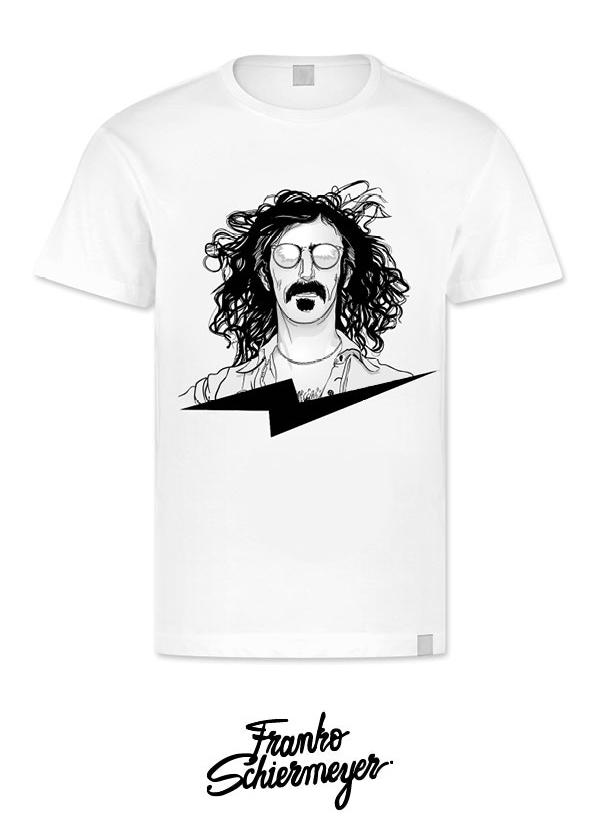zappa jack white franko schiermeyer poster illustrations vector t-shirt musicians rock