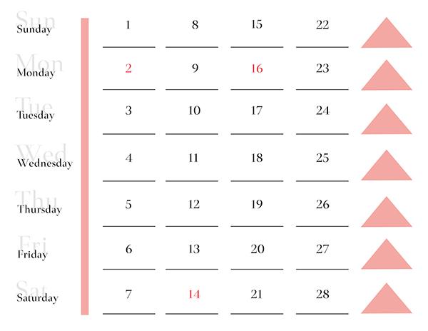 2015 typography calendar on behance