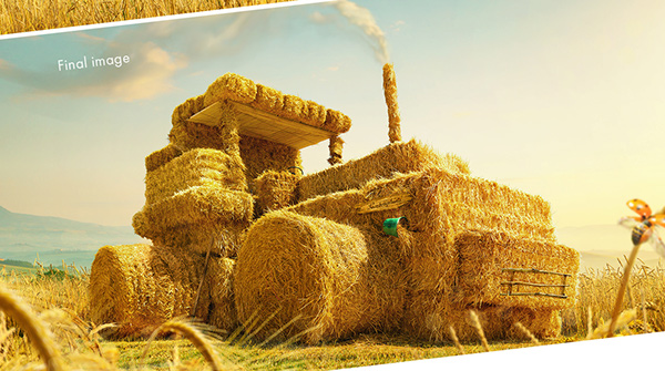 Hay-tractor by Western Jack