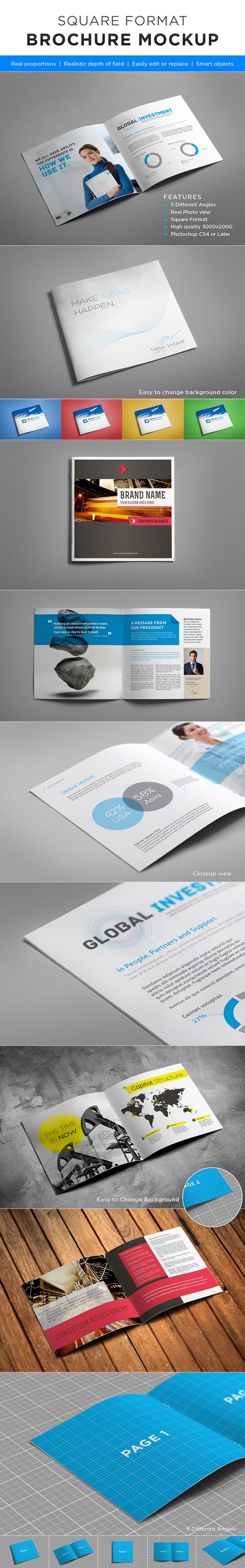 book Booklet brochure business corporate cover Customize elegant magazine Manuals mock up mock-up mock-ups preview Multipurpose