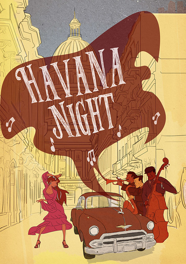 havana night concept on pantone canvas gallery