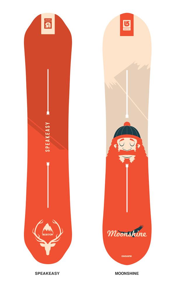 Snowboard Design On Behance