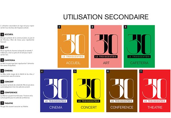 angellopez logo Logotype identity indentité print charte charte graphique troiscentdix