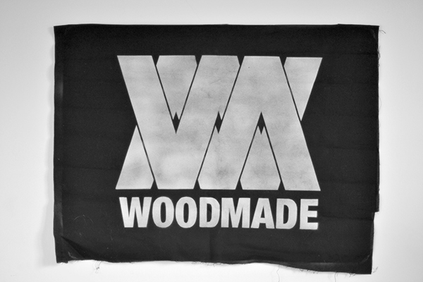 graphic design rock band wood