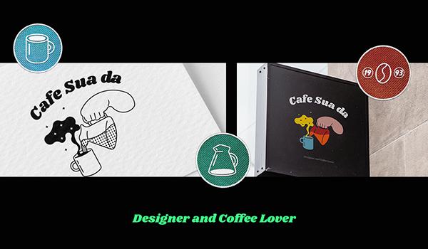 Personal branding Project Cafe Sua Da