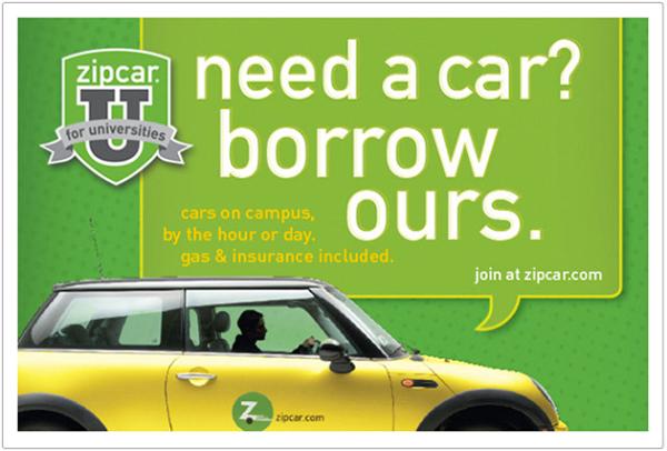 zipcar for university. Black Bedroom Furniture Sets. Home Design Ideas