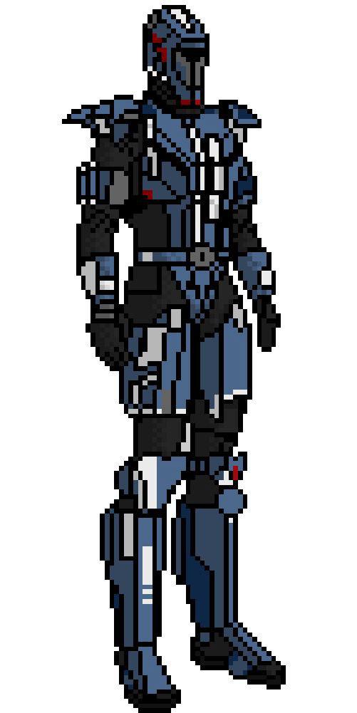 Pixel Art Star Wars Character On Behance