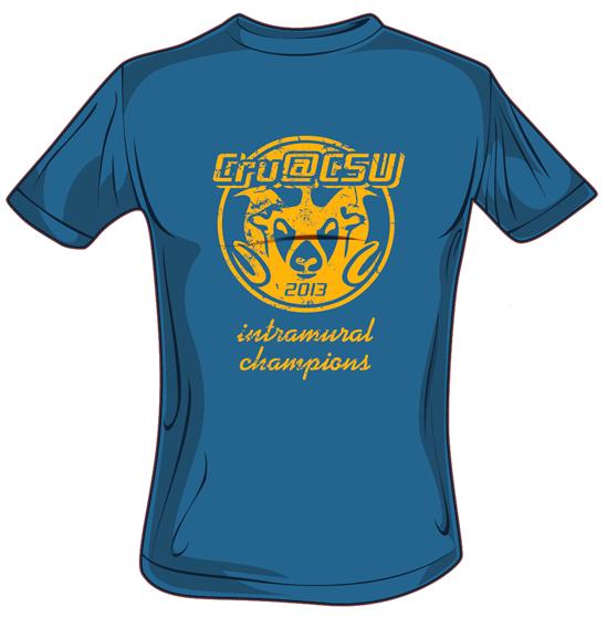 273cd249680 Cru@CSU Intramural T-Shirt Design on Behance