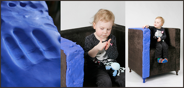 furniture Interior idea creative modelling dough Innovative
