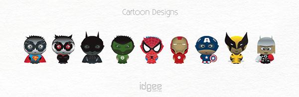cartoon graphic superman cat women batman spiderman ironman captain america wolverine Thor the green hornet