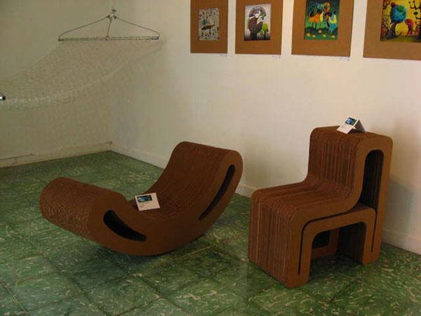 carboard furniture ecodesign