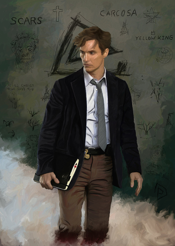 truedetective McConaughey Rustin Cohle hbo
