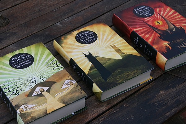 Lord Of The Rings Book Cover Designs On Student Show