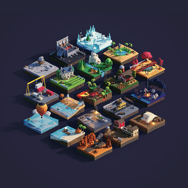 Low Poly Worlds