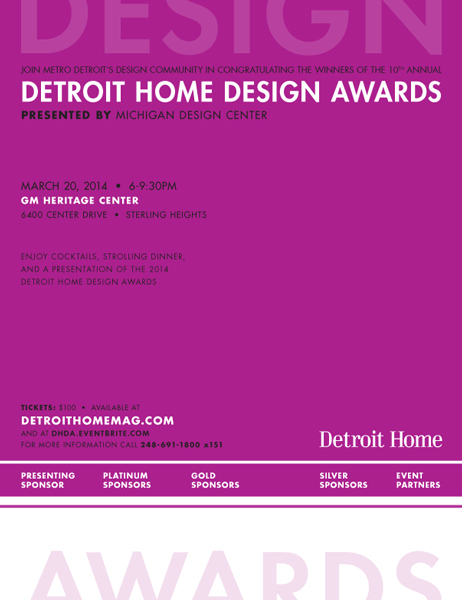 Detroit Home Design Awards 2014 on CCS Portfolios