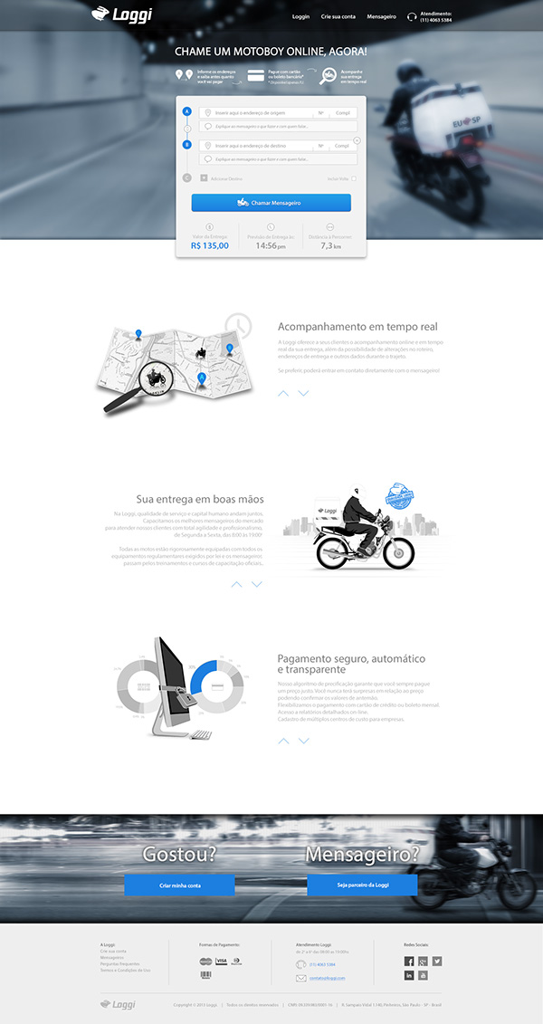 Website brand Startup app
