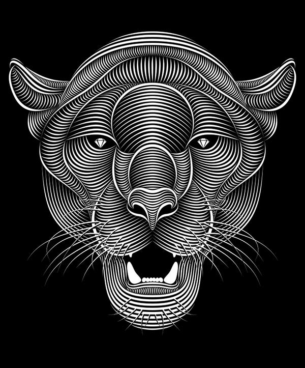 Line St Jean Art Et Design : Panther on behance