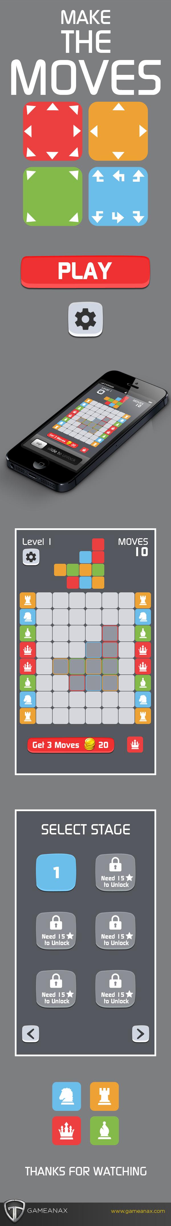 mobile gaming Gaming Games UI ux puzzles iphone iPad